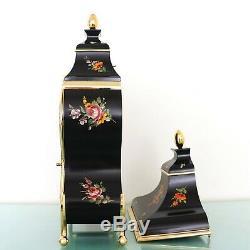 PALAIS ROYAL Wall Mantel Clock + Console Vintage SWISS Neuchatel RARE! XXL Chime