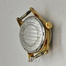 Pallas Watch Vintage S Swiss 17 Jewels Wrist Ladies Mechanical Rare Gold Plated