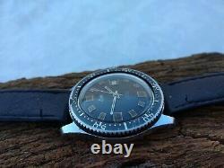 RARE ELGE SKIN DIVER 40 mm VINTAGE SWISS WATCH 70's