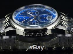 RARE New Invicta Men 47mm Vintage Series Swiss Retro Chrono Multi Link SS Watch