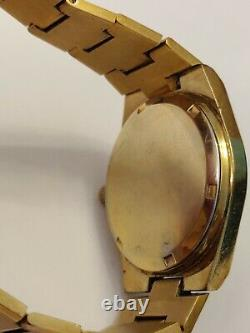 RARE OMEGA GENEVE cal. 613 VINTAGE 60's 17J SWISS WATCH WORKS WELL 35mm case