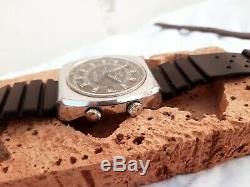 RARE SICURA BREITLING AUTOMATIC BF158 25 JEWELS DATE VINTAGE SWISS WATCH 1970's