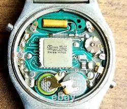 RARE, UNIQUE Men's SWISS Vintage DIGITAL Watch RADO DIASTAR 778.2305.4