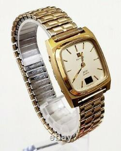 RARE, UNIQUE Men's SWISS Vintage Watch ZENITH Defy 20 0090 470 Y