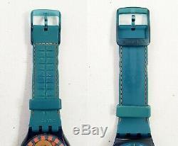 RARE, UNIQUE Men's Vintage SWISS AUTOMATIC Watch SWATCH Sistem 51 19Jewels