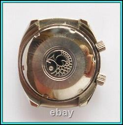 RARE Vintage INVICTA COMPRESSOR Soccer Timer Wristwatch Swiss Made WORKING