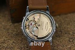 RARE Vintage Men Swiss Watch Breitling Datora Bidynator Felsa 693 triple cal