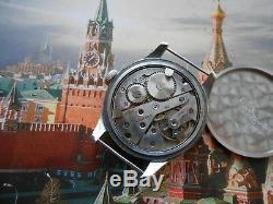 RARE! Vintage WW2 men's swiss military style mechanical watch MULCO, 1940s