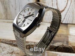 Rado Purple Gazelle Swiss Made Vintage Automatic Mens 36mm Rare 1970 Watch