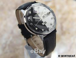 Rado Starliner Daymaster 1960 Vintage Auto Swiss Made Men 38mm Rare Watch J231