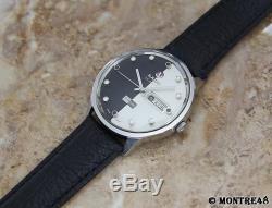 Rado Starliner Daymaster 1960 Vintage Auto Swiss Made Men 38mm Rare Watch J231