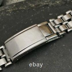 Rare 1940s Gay Freres Swiss Stainless Steel 18mm nos Vintage Watch Band