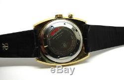 Rare 1960's Vintage Mens VULCAIN CRICKET Alarm Swiss Winding Wrist Watch S2312B
