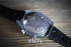 Rare Breitling Sicura Alarm, 38mm, vintage swiss watch 70-80s cal. 5008, near NOS