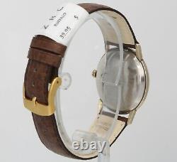 Rare Hamilton A-653 Vintage 33mm 10K RGP 60's Automatic Mens Swiss Watch