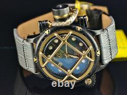 Rare NOS Invicta 52mm Russian Diver Swiss ETA 2824 Auto MOP Antique Case Watch