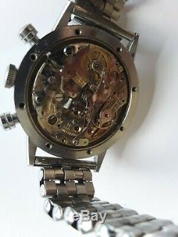 Rare Pierce Chronograph Swiss Watch