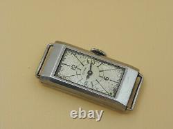 Rare Swiss CYMA Art Deco watch lady Antique fashion rectangular 1930s Ref 344. A