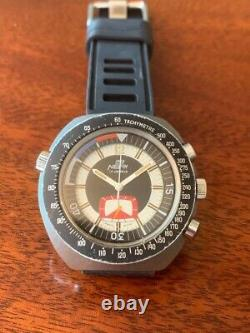 Rare Swiss Vintage Neri (Sicura) Manual Wind watch, Chronograph, T-dial 1960s