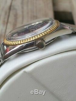 Rare Ulysse Nardin Chronometer hi-beat 36000 swiss watch 70's vintage