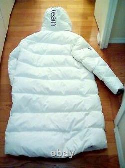 Rare VTG NWT DESCENTE SWISS SKI TEAM AUDI ORIGINAL Long Down Puffer Jacket XL
