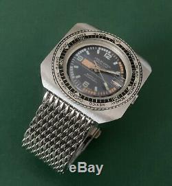Rare Vintage 70s Swiss Gents mechanical watch LONLAY Calendar Swiss Made