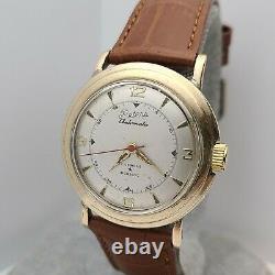 Rare Vintage A. HIRSCH Co Men's Automatic watch ETA 1256 17Jewels swiss 1950s