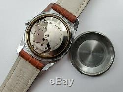Rare Vintage Allaine Mens Watch Automatic 25 Jewels Felsa F4007N Swiss Movement