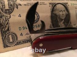 Rare Vintage Army Swiss Swiss Army Knife