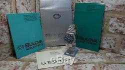 Rare Vintage BULOVA Accuquartz Swiss Made Cal. 2242 Swiss Movement