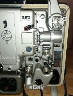 Rare Vintage Bolex Paillard S0221 16mm Projector Swiss Tested Look my Video