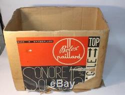 Rare Vintage Bolex Paillard S321 16mm Projector Swiss