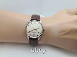 Rare Vintage Bulova 10 AUC Men's Automatic watch 17 jewels swiss made 1950s