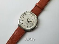 Rare Vintage Dugena Geneve Automatica Mens Watch Automatic ETA 2836 Swiss