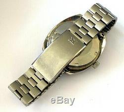 Rare Vintage Edox Hydro-Sub ETA 2783 Date Diver Automatic Swiss Mens Watch Runs