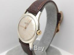 Rare Vintage Gruen 452SS-994 Men's Manual winding watch swiss made 1950s