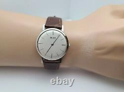 Rare Vintage Gruen guild 595 Men's Manual winding watch 17jewels swiss made 60s