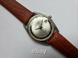Rare Vintage Guda Super Automatic Swiss Movement Mens Watch Polerouter ETA 2472