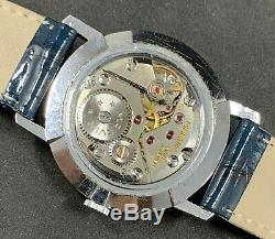 Rare Vintage MARVIN Gents Swiss Watch Cal. 525, 17 Jewels 1965 Excellent
