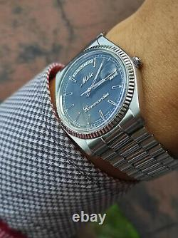 Rare Vintage Mido Commander Day Date Mido 8299 swiss made vintage box papers