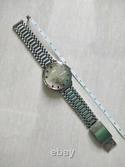 Rare Vintage Mido commander datoday 5039 circa 1960s authentic swiss made