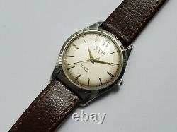 Rare Vintage Relide Automatic Swiss Made Mens Watch Felsa F1560 Swan Neck