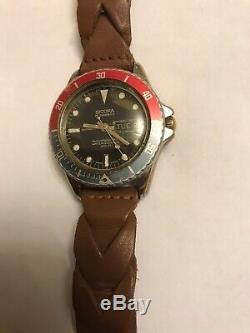 Rare Vintage Sicura Diver Watch 600 FT Automatic Swiss Made