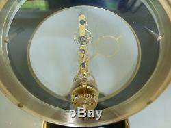 Rare Vintage Swiss Jaeger Lecoultre Skeleton Baguette Type Movement 8 Day Clock