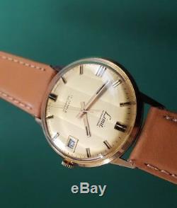 Rare Vintage Swiss Mechanical Gents watch Limit Calendar Swiss Made