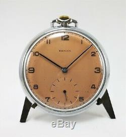 Rare Vintage Swiss Pocket Watch Zenith Hii Cal 177 P Circa 1941 Rrr
