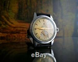 Rare Vintage Swiss Watch Omega Seamaster 17j Cal. 342 Bumper Wind Circa 1950