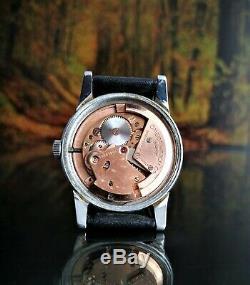Rare Vintage Swiss Watch Omega Seamaster 17j Cal. 342 Bumper Wind Circa 1950