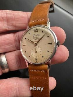 Rare Vintage Swiss Watch Thusal