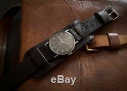 Rare Vintage Swiss Wrist Watch Arta Military 15 J Ww2 Wwii Era 1930 1940 For Men